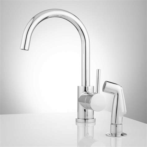 kitchen faucet with spray kitchen single handle kitchen faucet with side spray