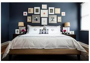 Chambre Bleu Nuit : 12 id es pour une d coration de chambre en bleu marine ~ Melissatoandfro.com Idées de Décoration
