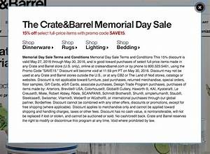 Printable Coupons In Store & Coupon Codes: Crate & Barrel