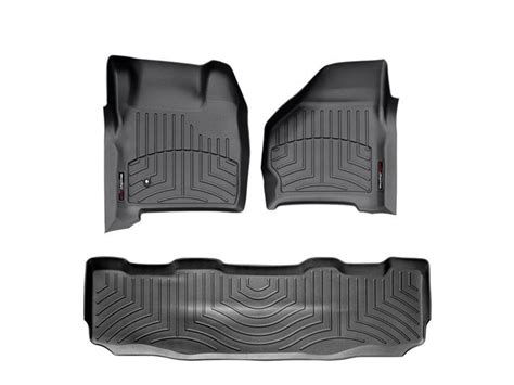 Weathertech Floor Mats 2014 F250 by 2011 2016 F250 F350 Duty Supercrew Weathertech