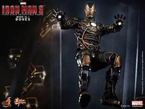 Hot Toys Mms 251 Iron Man 3  U2013 Mark Xli Bones Armor  U2013 Hot