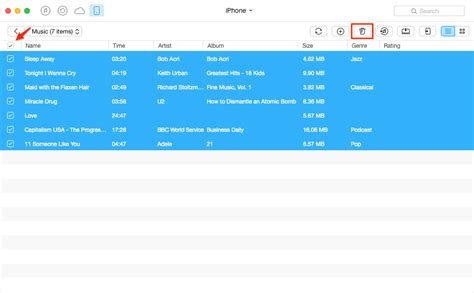 how to delete songs from iphone 5 how to delete from iphone 6 6s se 4s 5 5s ios 7 8 9