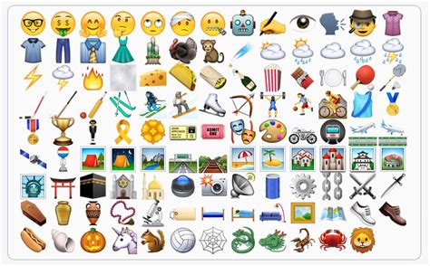emojis for iphone une ribambelle de nouveaux emojis dans ios 9 1 igeneration