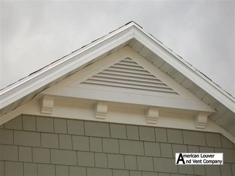 gable attic vent louvers traditional other metro by