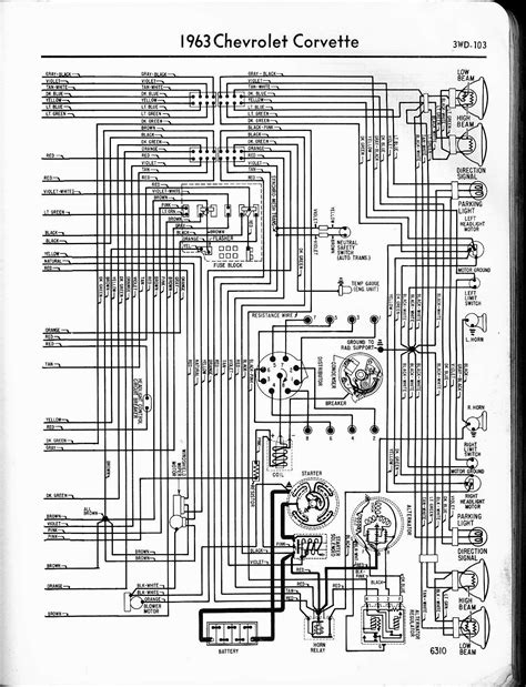 63 Chevy Headlight Switch Wiring Diagram by 63 Wiring Diagram Corvetteforum Chevrolet Corvette