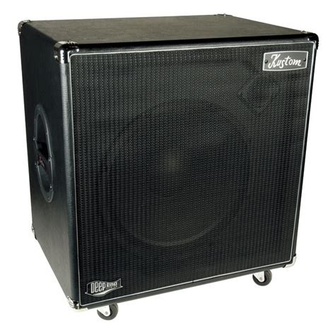 Custom Bass Guitar Speaker Cabinets by De115h End Cabs 1 X 15 Quot Bass Guitar Kustom Speaker
