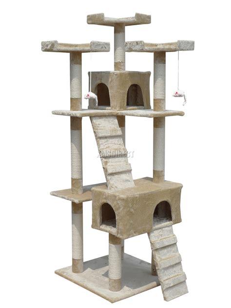 cat scratching post sisal cat tree activity centre scratcher scratching post
