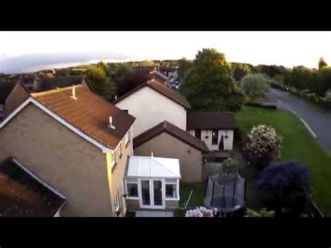 parrot ar drone  elite edition raw video footage youtube
