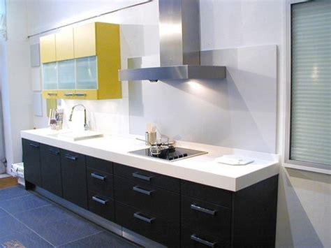 plan de travail cuisine blanc cuisine noir plan de travail blanc