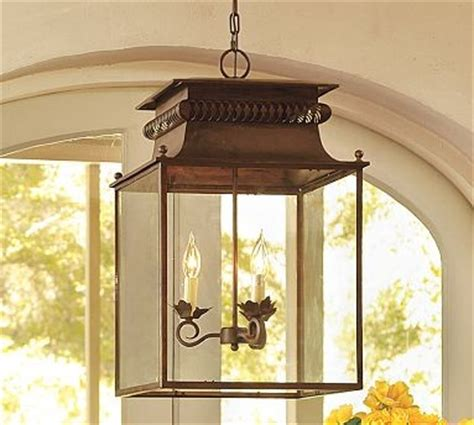 pottery barn outdoor lanterns bolton lantern traditional outdoor hanging lights by