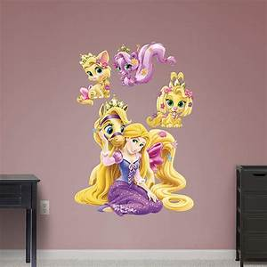 palace pets rapunzel collection wall decal shop With beautiful rapunzel wall decal