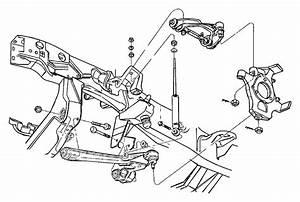 Dodge Dakota Knuckle  Front  Left  Suspension  Shocks