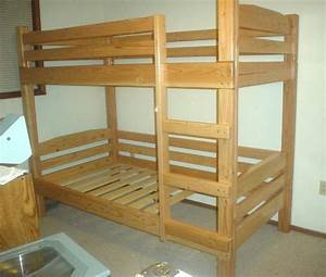 Diy Bunk Bed Plans BED PLANS DIY & BLUEPRINTS