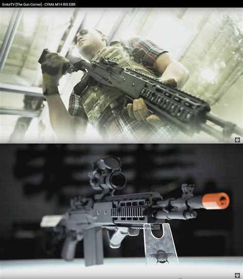 evike cyma m14 ris ebr custom full metal airsoft aeg sniper rifle blog juhll com