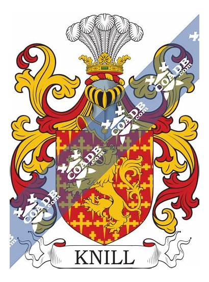 Knill Arms History Crest Coat