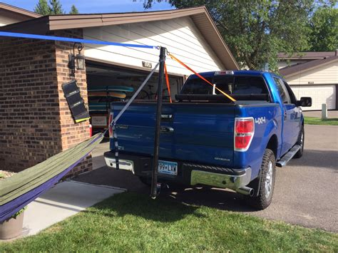 Truck Hammock by Truck Hitch Hang Tree To Truck Hang One Tree Hang