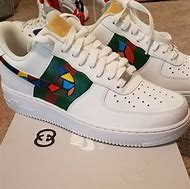 Custom Gucci Air Force One Shoes