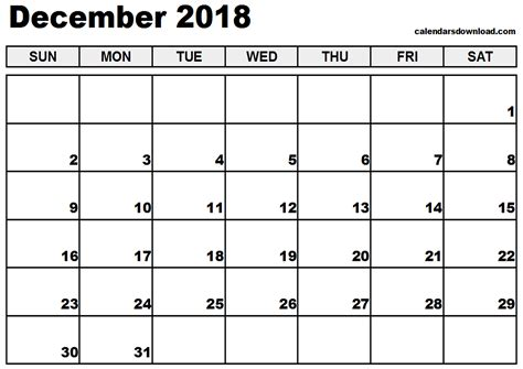 ber 2017 printable calendar calendar 2018 december 2018 printable calendar 2018 calendar printable dece