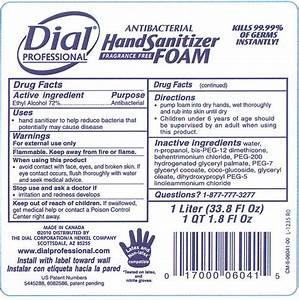 Dial Professional Antibacterial Hand Sanitizer  Liquid