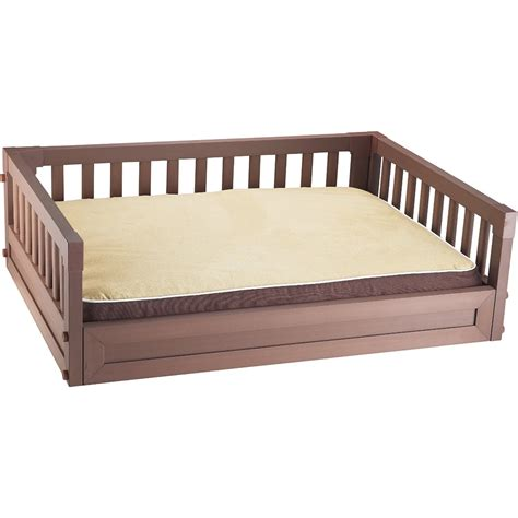 pet bed elevated pet bed russet in pet beds