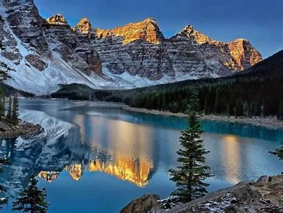 Canada Lake Moraine 1200 1400 1600 Wallpapers
