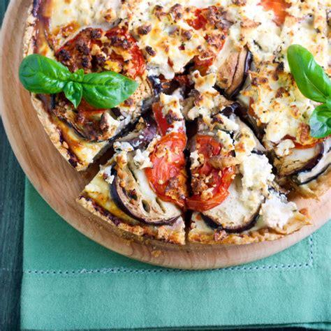 recette quiche daubergine au fromage de chevre