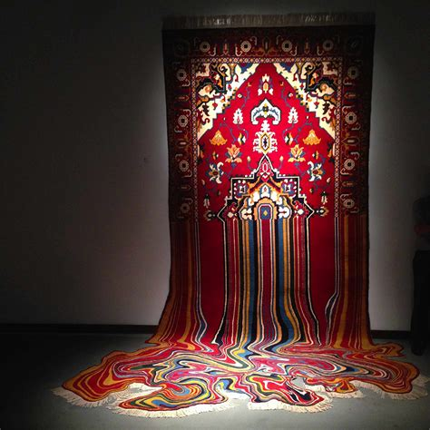 Faig Ahmed Creates Glitchedout Contemporary Rugs From