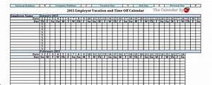 2015 employee vacation absence tracking calendar 2015 With vacation planning calendar template
