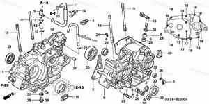 Honda Atv 2004 Oem Parts Diagram For Crankcase   U0026 39 04  U0026 39 05