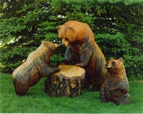Gartendeko Holzfiguren holzfiguren werden ihrem garten einen individuellen look