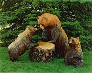 Holzskulpturen Für Den Garten : holzfiguren werden ihrem garten einen individuellen look verleihen ~ Yasmunasinghe.com Haus und Dekorationen