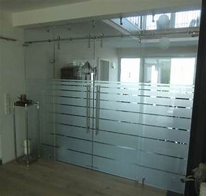 Trennwand Mit Glas : ma gefertigte glas trennwand mit schiebet r meitinger ~ Michelbontemps.com Haus und Dekorationen