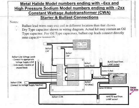 Pulse Start Metal Halide Ballast Electrical Diy