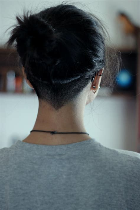 nape undercut on tumblr