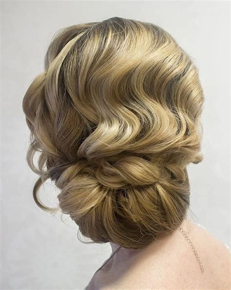 Finger Wave Updo Hairstyles by 30 Glamorous Finger Wave Styles For Any Hair Length