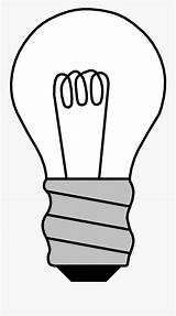 Bulb Coloring Clip Drawn Clipart Clipartkey sketch template