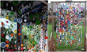 Wonderful garden accents created from recycled materials