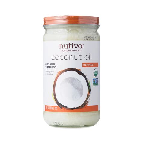 Organic Refined Coconut Oil By Nutiva Thrive Market