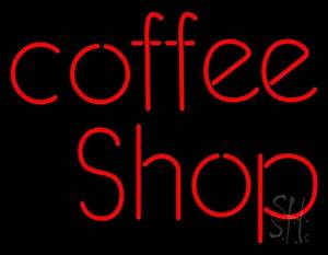 Red Coffee Shop Neon Sign Coffee Neon Signs