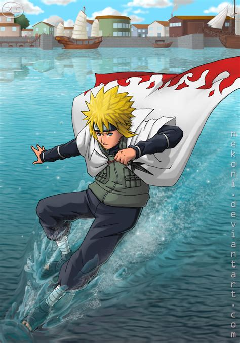 yondaime hokage minato  yellow flash naruto wallpapers