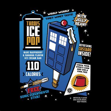 tardis ice pop logo  blogtor