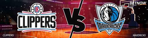 Mavericks Vs Clippers
