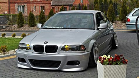 bmw e46 m3 silver slammed bmw ultimate driving machine e46 m3 bmw e46 and slammed