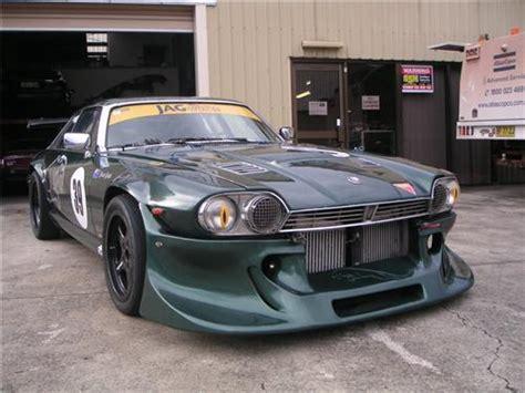 amazing jaguar xjs v12 sold jaguar 1977 xjs v12 turbo race car cams log