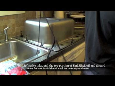 how to seal a kitchen sink how to seal a kitchen sink new universal sinkseal gasket 8898