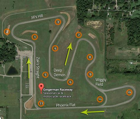 gingerman raceway driving tips xtreme xperience