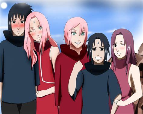 Sasuke And Sakura Family