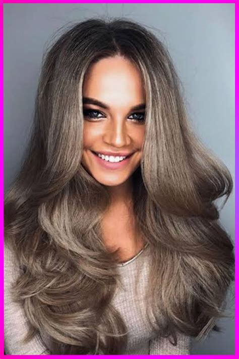 Hottest Long Length Layered Brown Hairstyles and Color