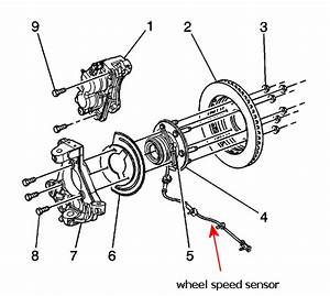 My 2006 Yukon 4wd Has Bad Front Wheel Sensor Abs  Can