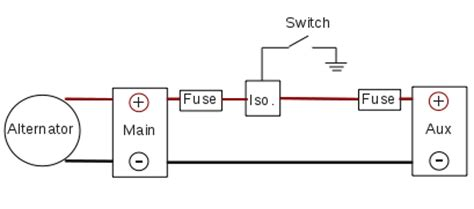 Dual Battery Isolator Wiring Diagram by Dual Battery System Design Stephen S Stuff